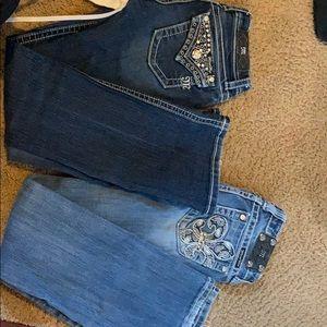 BUNDLE **GOOD DEAL** miss me jeans